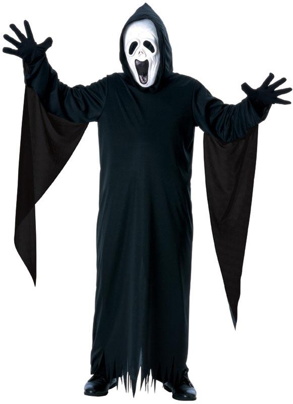 Maskeradteman Barn Maskerad. Skrikande Spöke Barn Maskeraddräkt (Small) 9c80b38a8f4ec