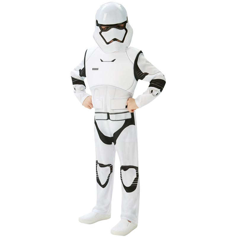 cf978d254b67 Stormtrooper Dräkt Barn Deluxe (Medium) - Maskeradkalaset